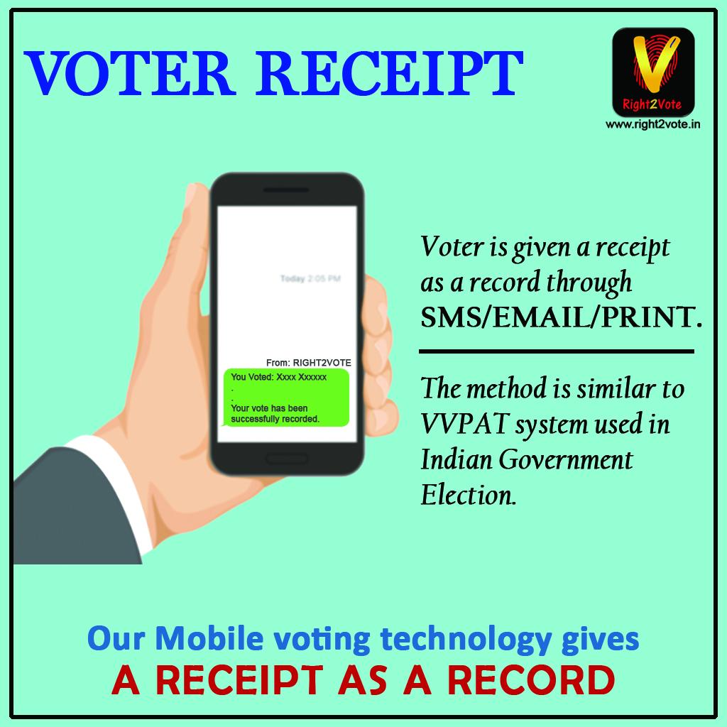 Voter Receipt